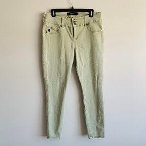 3/$25   Torrid Sage Green Skinny Jeans - 14